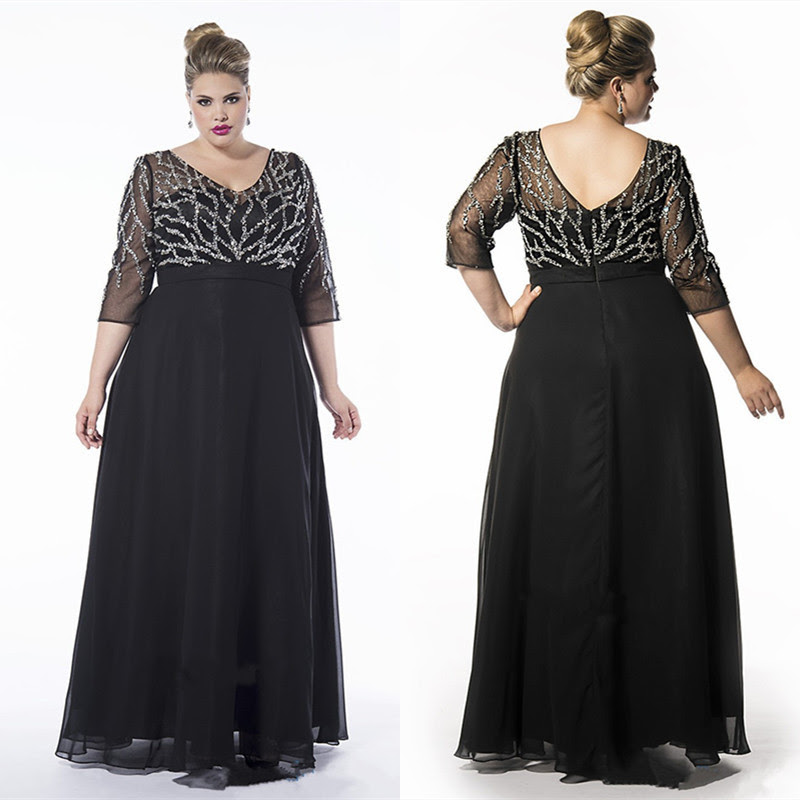 2016 new arrival elegant a line plus size mother of the