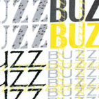 Buzz Words White