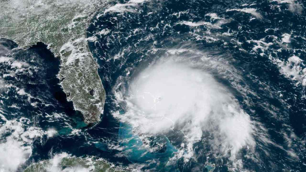Hurricane Dorian satellite view. Representational image. Credit: NOAA