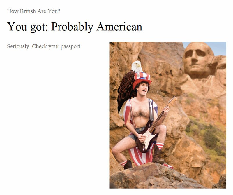 probably american