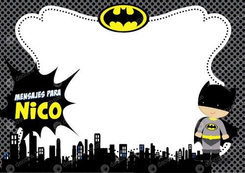 Tarjetas Cumpleaños Batman