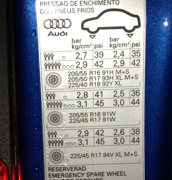 Oem Tires Page 2 Audiworld Forums