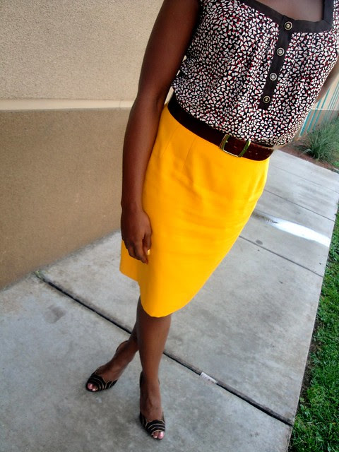 Skirt Vintage Thrfited Boutique