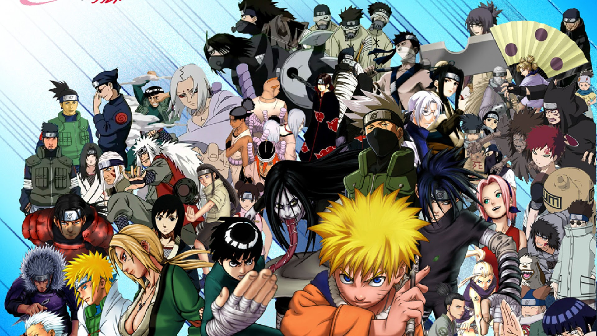 Characters Naruto Anime Wallpaper Wallpaper   WallpaperLepi