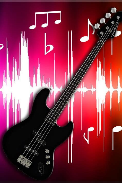 black fender bass guitar wallpaper allwallpaperin