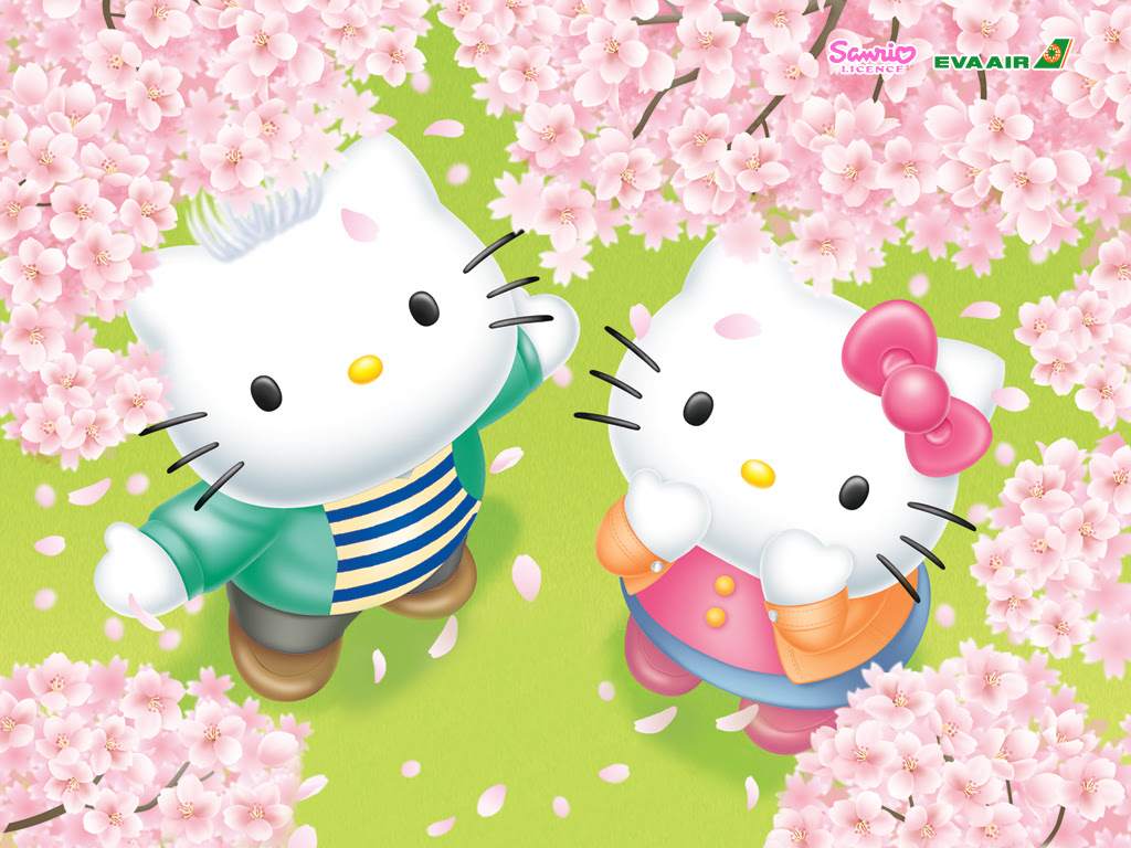 Gambar Wallpaper Doraemon Dan Hello Kitty Kampung Wallpaper