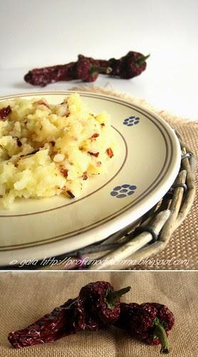 - Patate e peperoni cruschi -