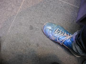 Phil's shoes...