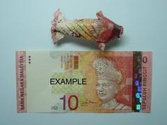Dollar Koi fish by The Macgyver