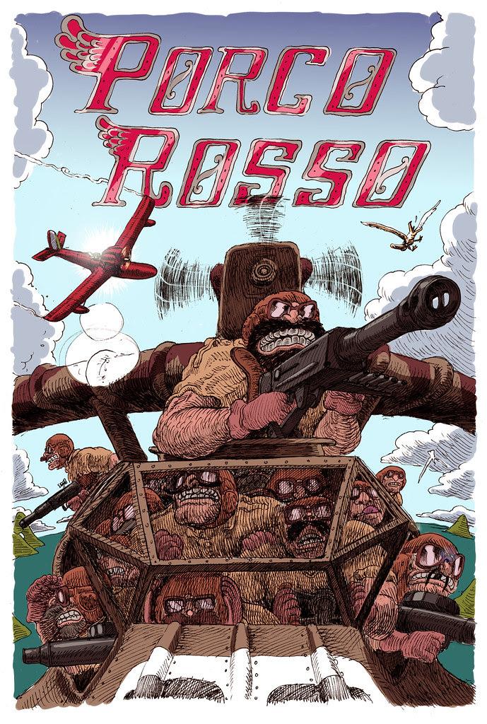 Porco Rosso by Jesse Balmer