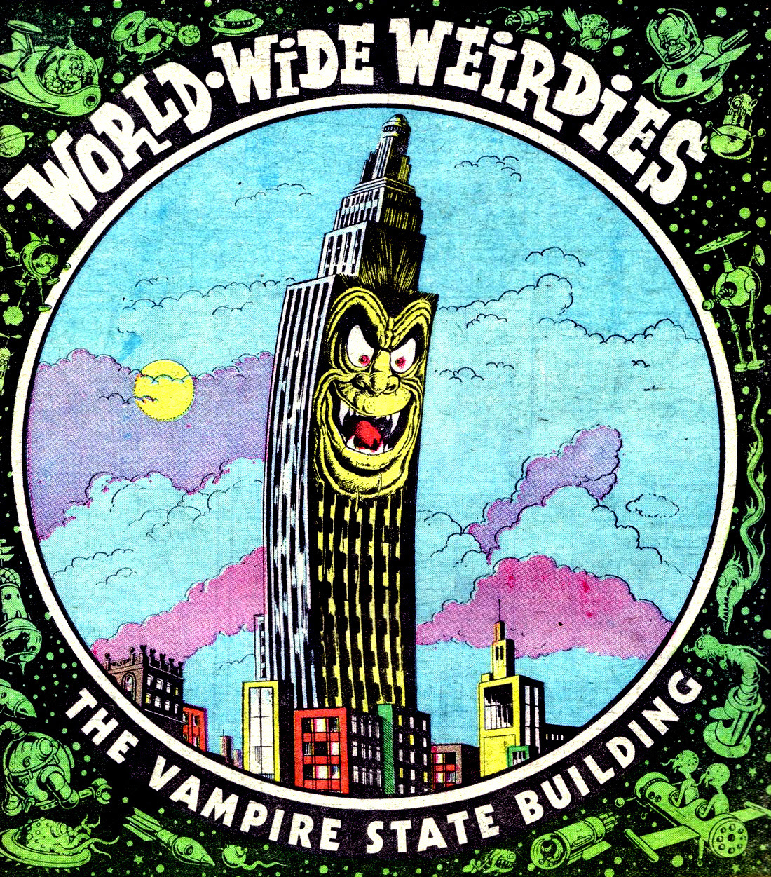 Ken Reid - World Wide Weirdies 08