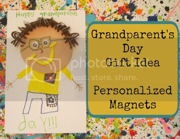 Grandparent's Day Gift and Card #crafting #kidscraft #giftidea #DIY
