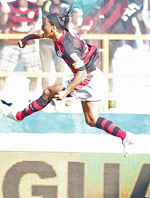 gol Ronaldinho Flamengo x Boavista (Foto: Mauricio Val / VIPCOMM)