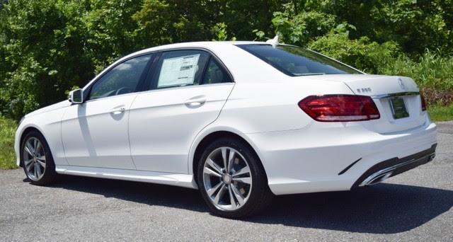 2016 Polar White Mercedes-Benz E-Class - Roanoke Times: Sedan