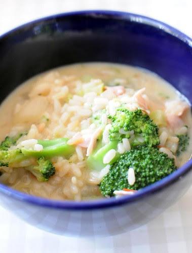 ham-broccoli-risotto