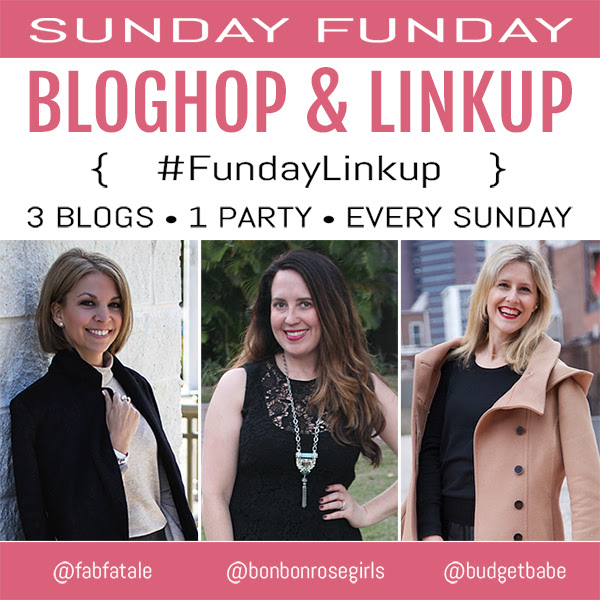 Sunday Funday Bloghop and Linkup - Add your links for a chance to be featured on all three blogs, plus get inspired by the best blogger content each week!