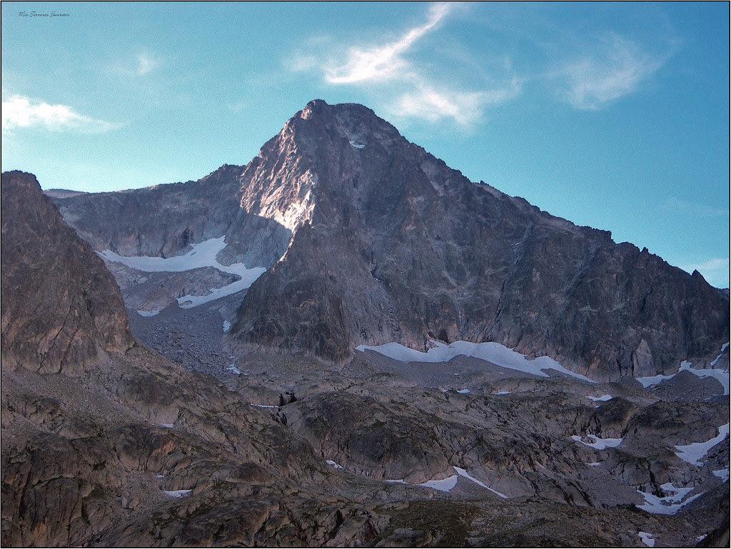 BALAITUS 3144 m Y ARISTA NOROCCIDENTAL DESDE PICO DE ARTOUSTE 2818 M