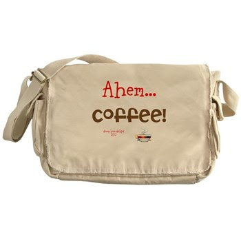 Funny Coffee Demand Messenger Bag