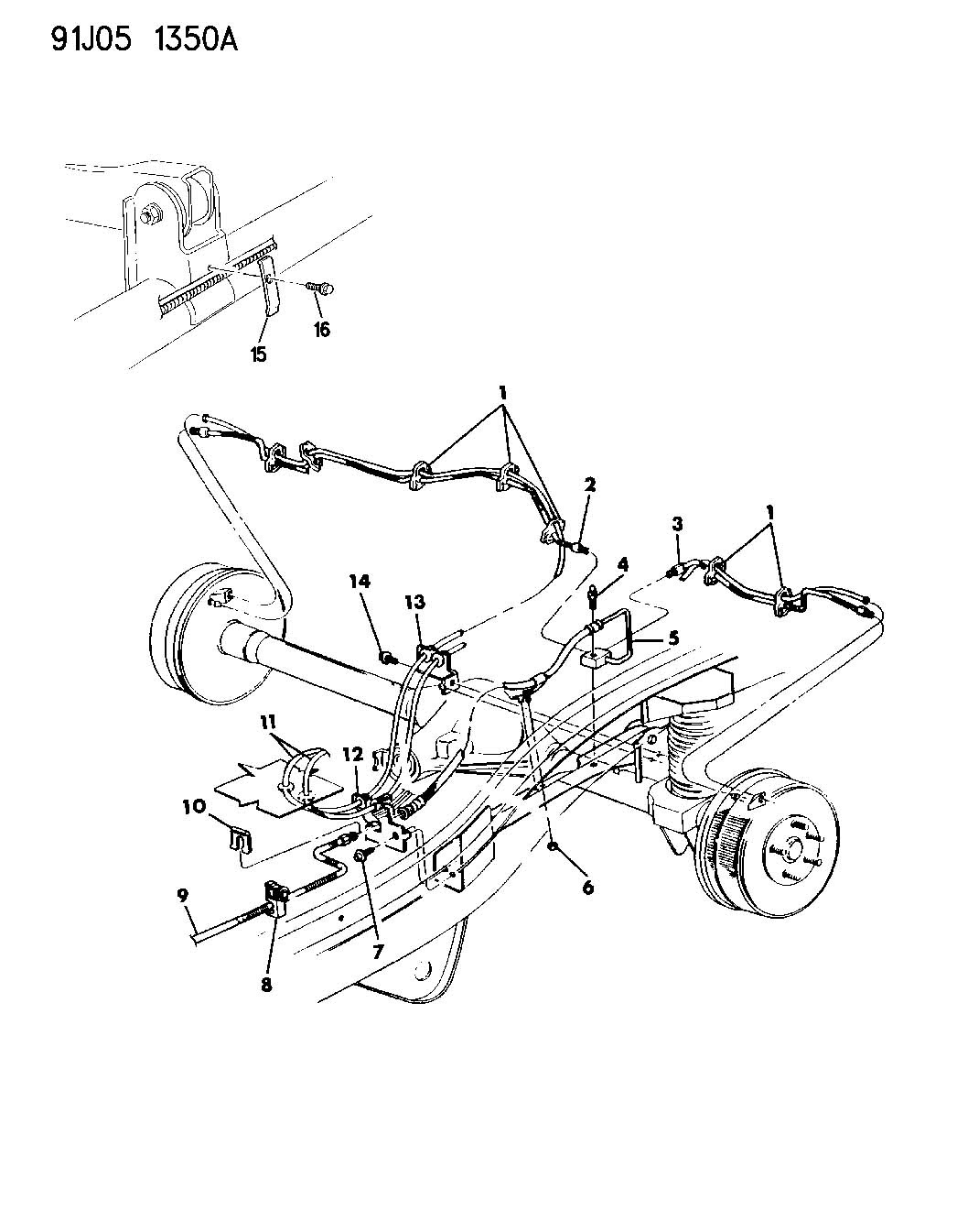 34 1999 Jeep Grand Cherokee Brake Line Diagram