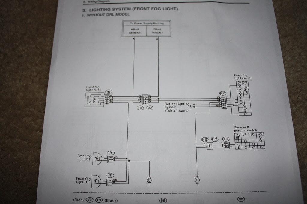Diy Wiring Oem Foglamp Switch W Aftermarket Lights Subaru Impreza Gc8 Rs Forum Community