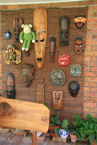 Martin's mask wall