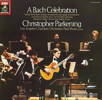PARKENING, CHRISTOPHER bach celebration, a