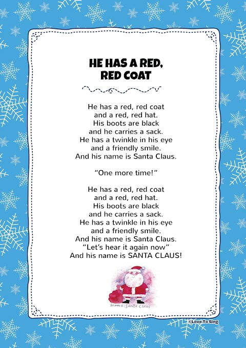 He Has A Red Red Coat Song Lyrics