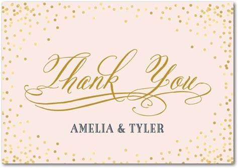 Wedding Thank You Cards   Wording, Etiquette, & More