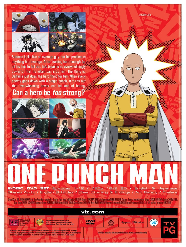 One Punch Man Season 1 Collection Fandom Post Forums