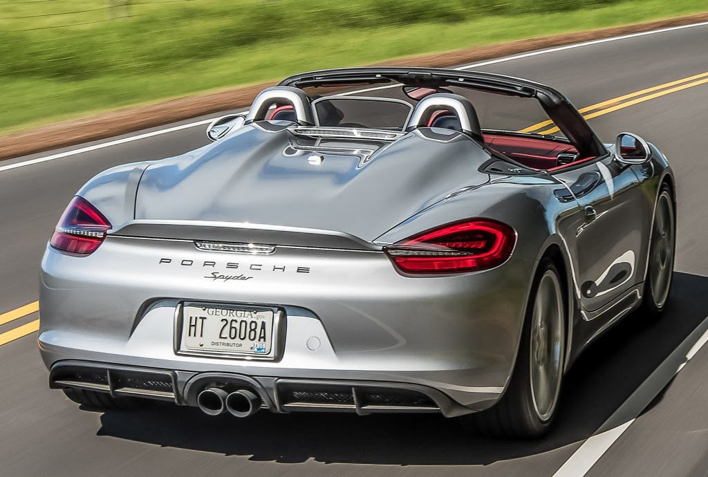 Porsche Confirms N A Flat 6 Will Live On In 718 Boxster Spyder 718 Cayman Gt4 Autoevolution