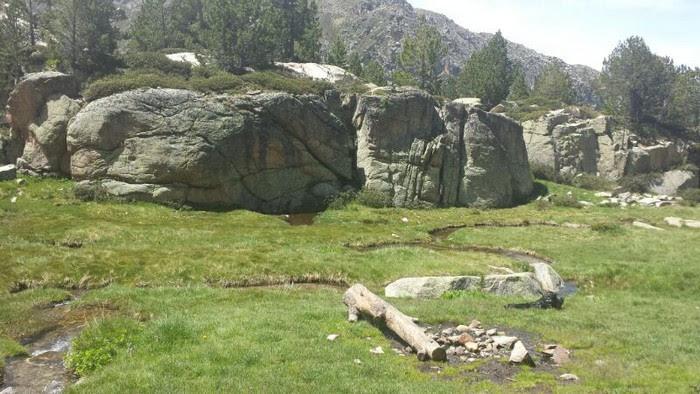 Foto de estanys d'Ensagens
