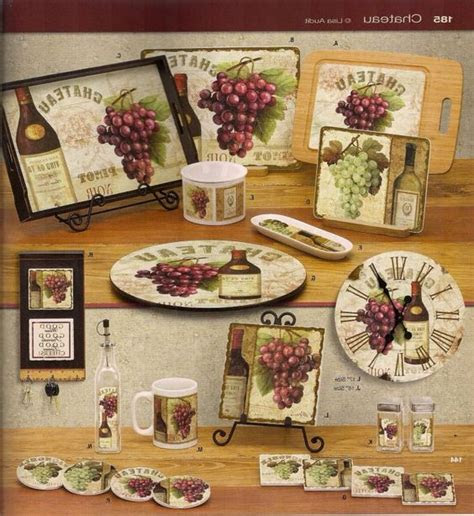 grapes kitchen decor ideas kitchen decorating