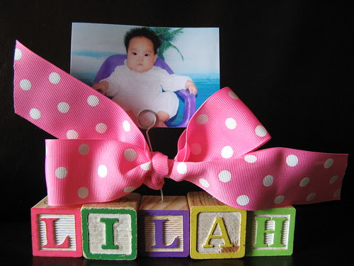 Lilah - photo holder