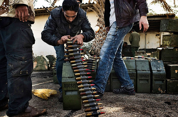 Libya, anti-government soldiers