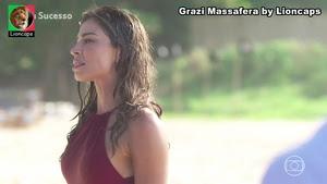 Grazi Massafera sensual na novela Bom Sucesso