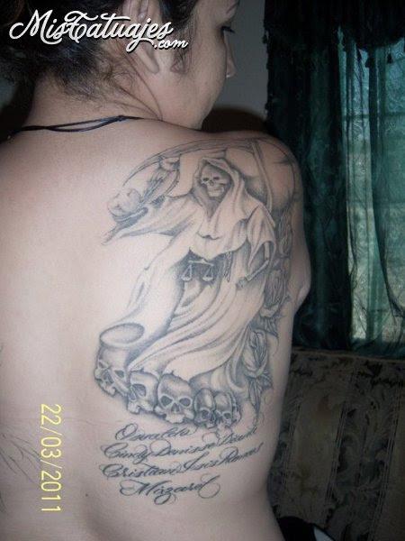 Santa Muerte Para Tatuar Imagui
