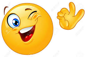 Image result for smiling winking emoticon