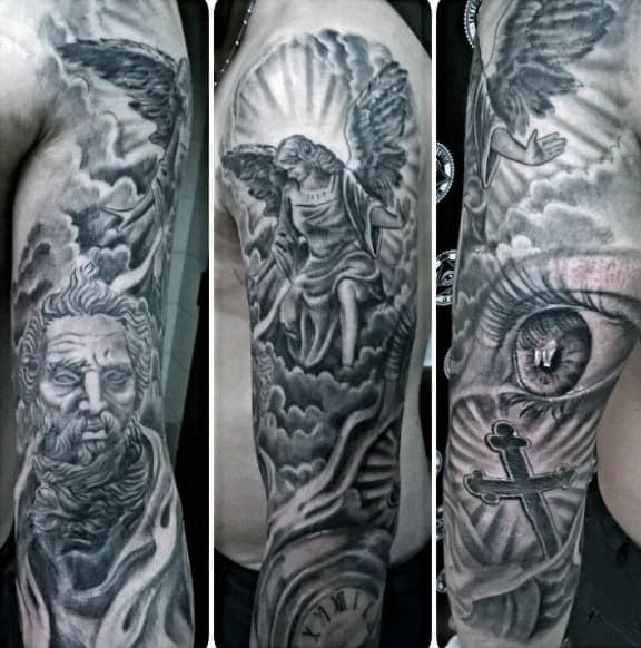 100 Religious Tattoos For Men Sacred Design Ideas