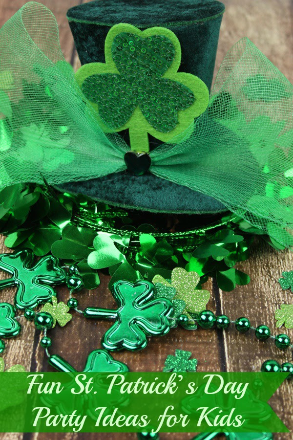 Fun St Patricks Day Party Ideas For Kids Sweet Party Place