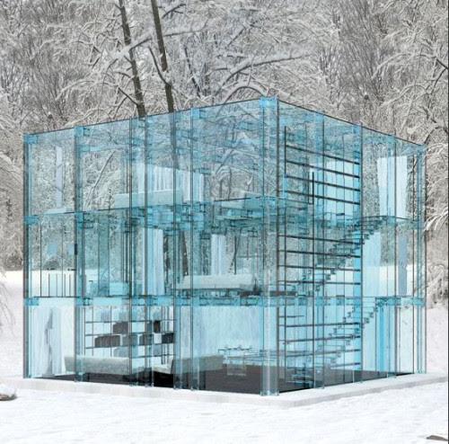 Desain Rumah Kaca Minimalis Yang Menakjubkan