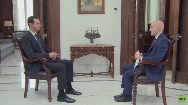 RT's interview with Syrian President Assad - 31 May 2018