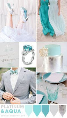 Love the Gray suit and turquoise tie next to the white and