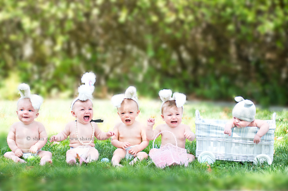 Easter Bunnies Shan Cait Photography Sacramento Family