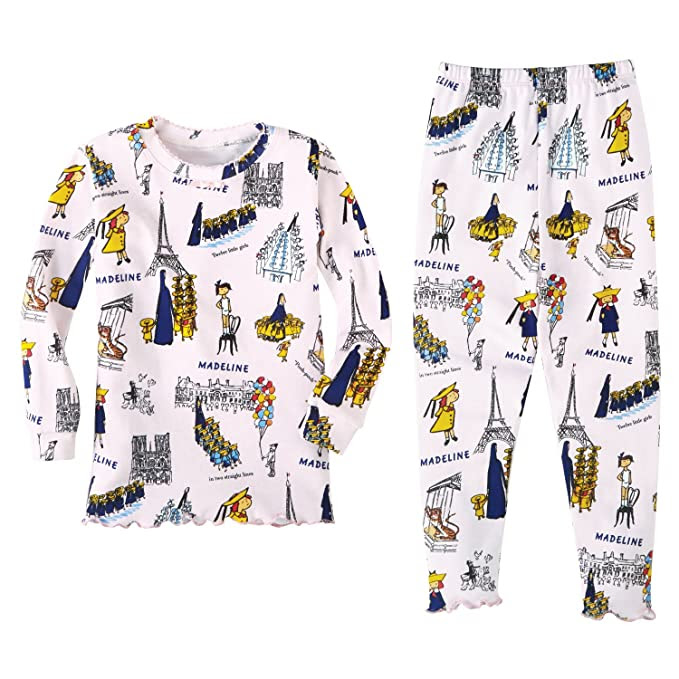 Girl's Mad About Madeline Girl Cotton Pajamas - 3T