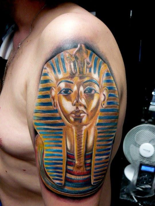 Egypt Style Tattoo By Adam Kremer Tattoomagz