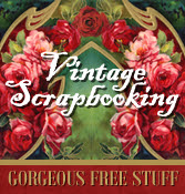 Vintage Scrapbooking Freebies