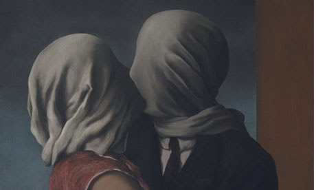 The Lovers, 1928 by Magritte