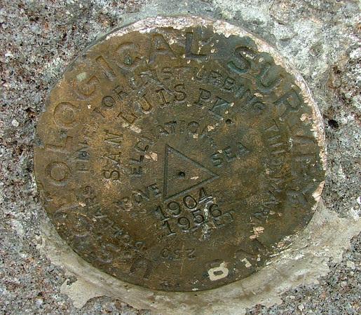 San Luis Summit Marker