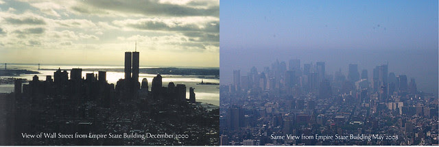 skyline comparison-  pre and post 9/11
