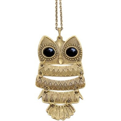 vintage owl Vintage Owl Pendant Necklace only $1.37 shipped!